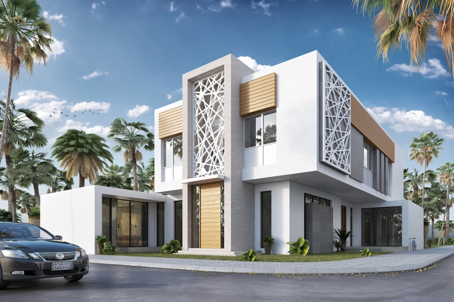 Residential building modern for Modern residential building design